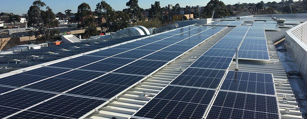 Suntrix solar installation at St Albans Arts & Community Centre