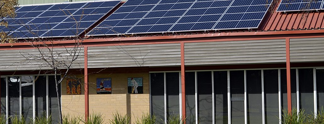 Suntrix solar and battery installation at Sunshine West Community Centre
