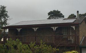 6kW solar installation - Greenhill