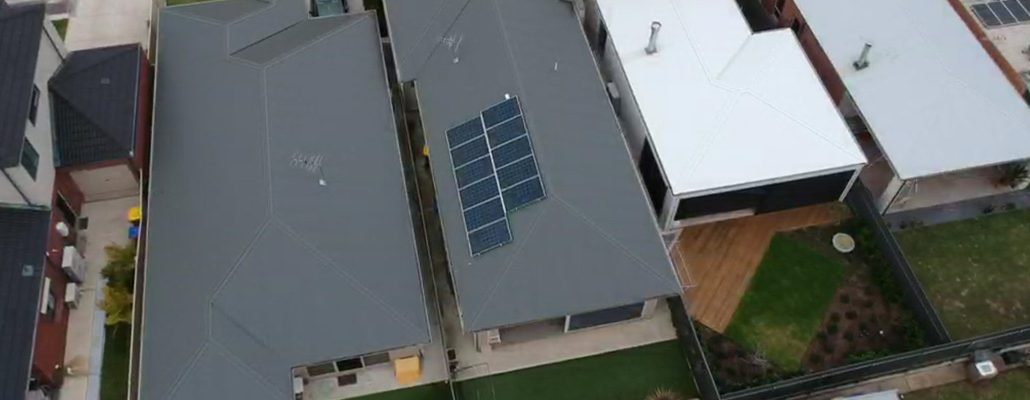 3kW rooftop solar installation - Seaton