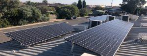 Suntrix solar installation at French Street Hall