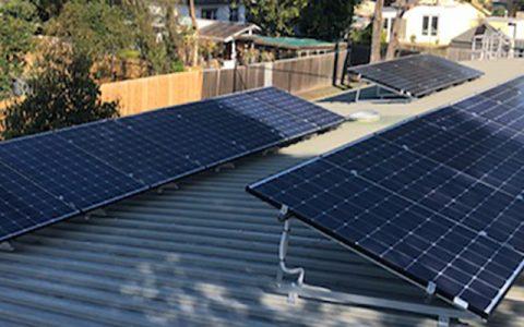 Suntrix solar installation at Vasey Park Kindergarten