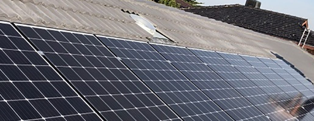 Roof-top solar solution at Keavy Electrical Services