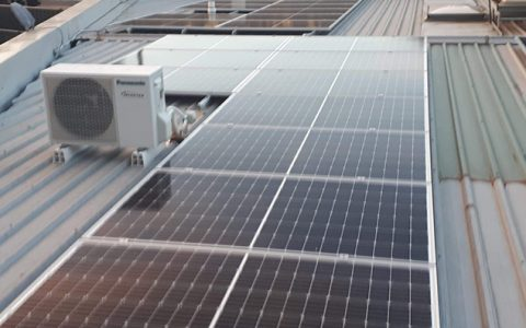 Roof-top solar installation for Eastern Dermatology