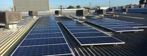 Roof-top solar installation for Petstock - Allenby Gardens