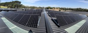 Rooftop installation at Royal Melbourne Golf Club