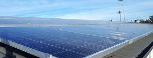 Rooftop solar installation at GrainCorp Liquid Terminals
