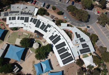 Rooftop solar installation for CSIRO