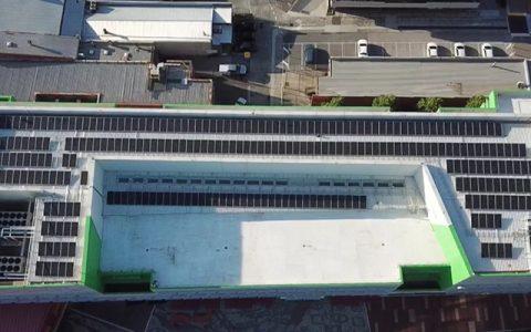 Rooftop solar installation for Dandenong City Council