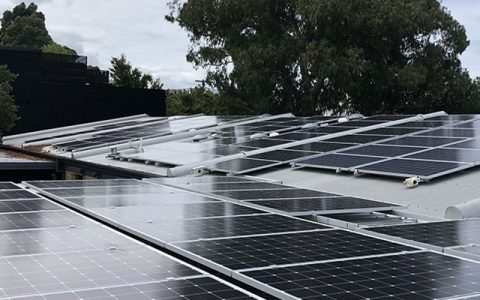 Rooftop solar installation for Hornbrook Childcare Centre