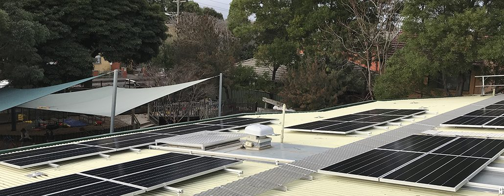 Solar installation for Argyle Street