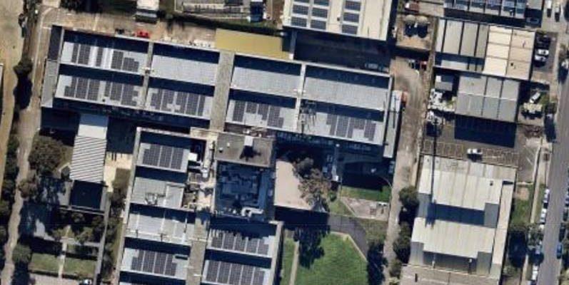 Suntrix solar installation at CSIRO Clayton