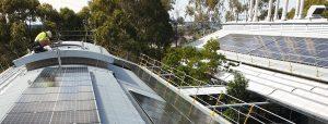 Suntrix solar installation at CSIRO Newcastle