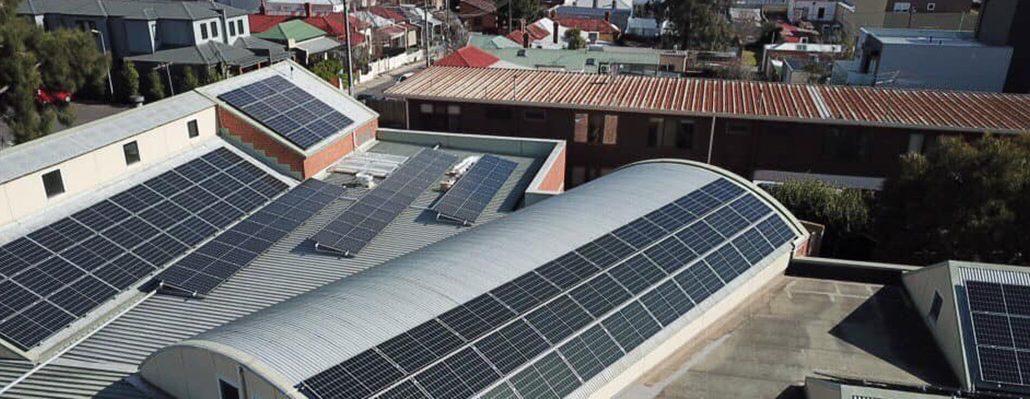 Solar installation at Darebin Library
