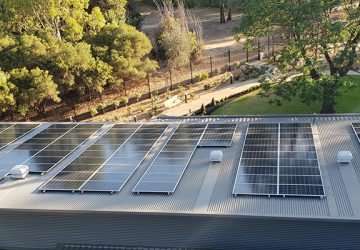 Solar installation at The Gums Salisbury, SA Care