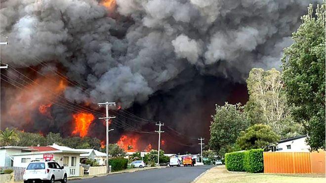 Bushfire crisis donation