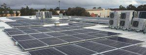 Suntrix solar installation for Baptist Care