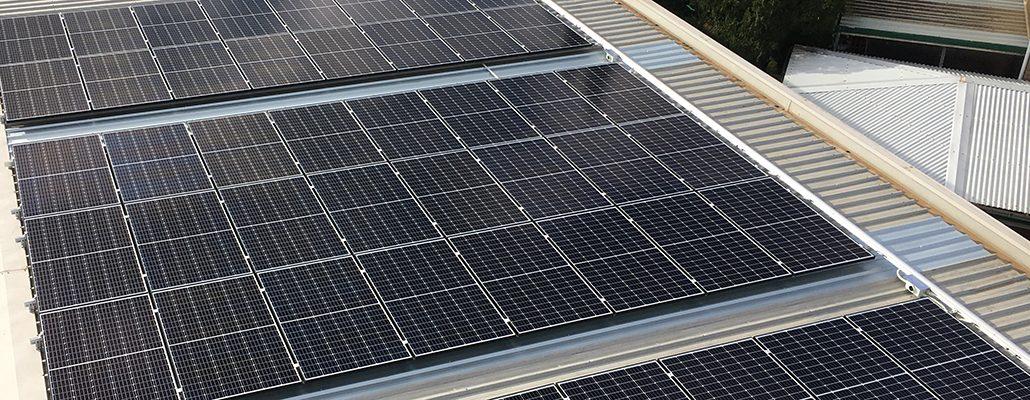 Solar installation for Macpac Adventure Hub