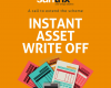 Extend the instant asset write off