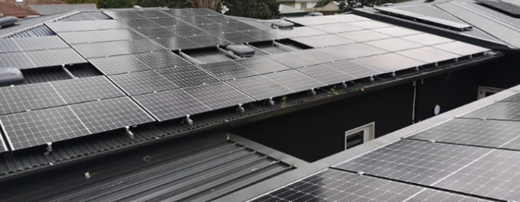 Solar installation for Cat Protection Society