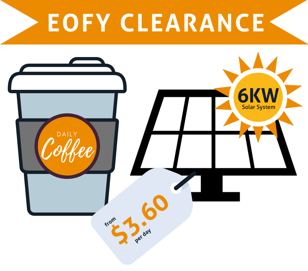 EOFY 6kW Solar Clearance Offer