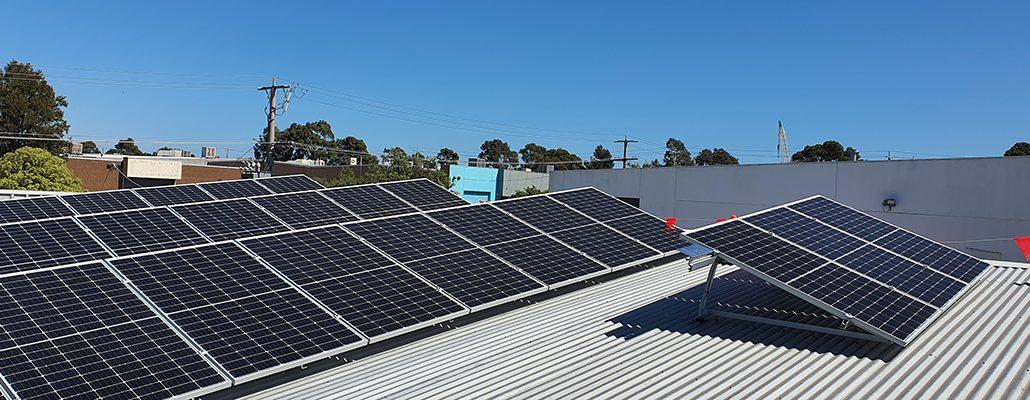 Solar installation for Dandy Gas