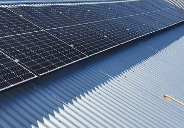 Solar installation for Lesley's Boutique