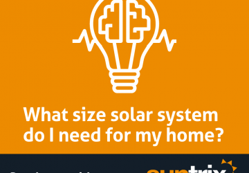 Solar system size guide